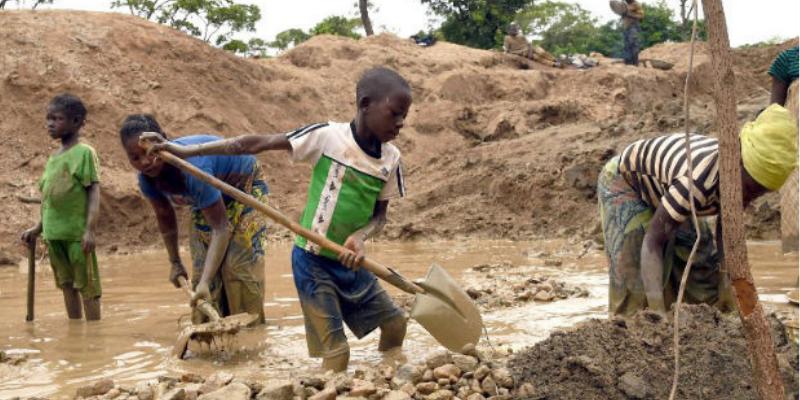 Situación infantil minera