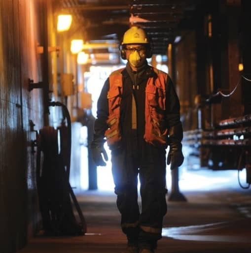 trabajador minero